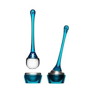 Čajové sitko s miskou Sagaform, modré