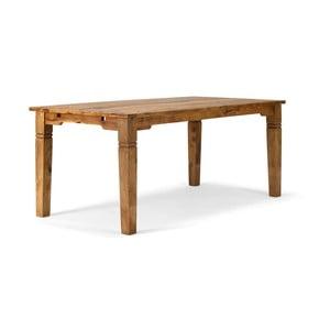 Jedálenský stôl z palisandrového dreva SOB, 140 x 90 cm