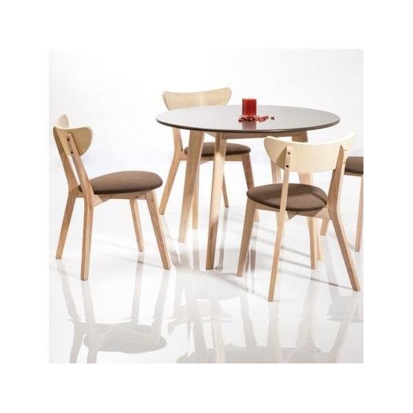 Jedálenský stôl Helsinky, sivý
