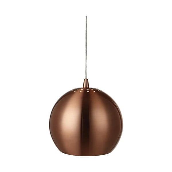 Medené závesné svetlo Markslöjd Elba, 28cm