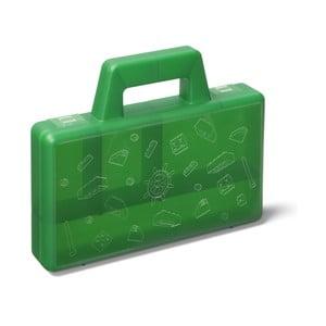 Zelený úložný box LEGO® To Go