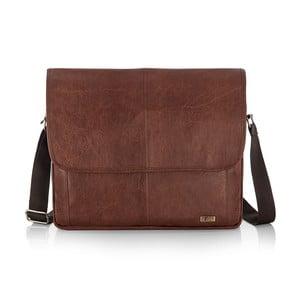 Pánska taška Solier S15, vintage hnedá