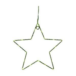 Zelená nástenná svetelná LED dekorácia Opjet Paris Star