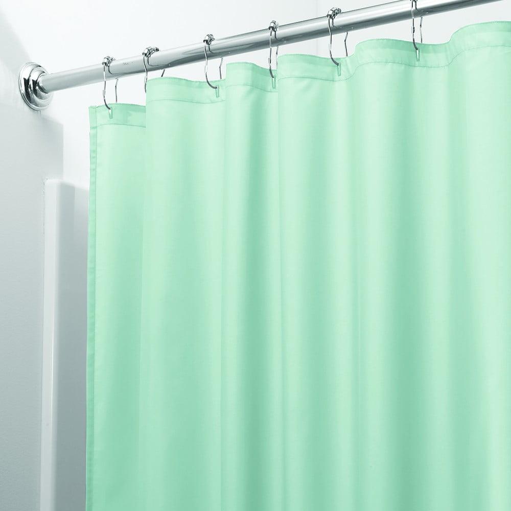 Zelený sprchový záves iDesign, 200 x 180 cm