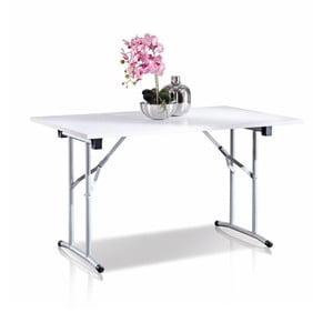 Biely skladací stolík Terraneo