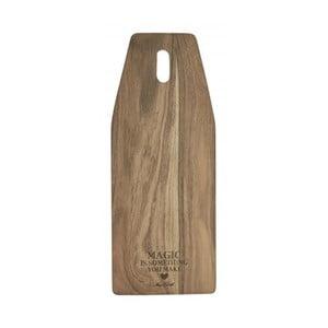 Doska na krájanie z agátového dreva Miss Étoile, 20 x 50 cm