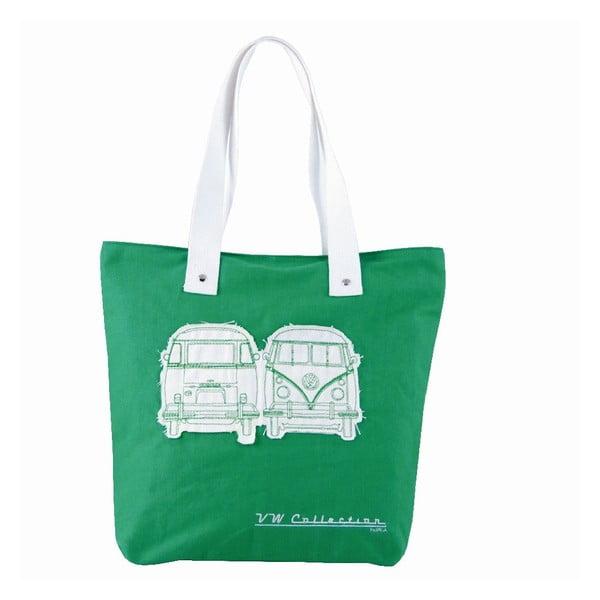 Taška Shopper Bus, zelená