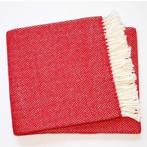 Deka Skyline Red, 140x180 cm