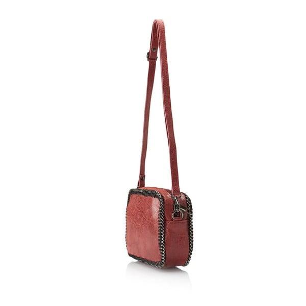 Kožená kabelka Markese 113 Bordo