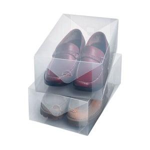 Sada 2 veľkých boxov na obuv Ordinett