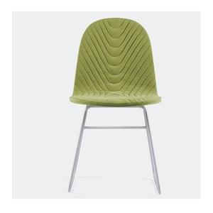 Stolička Mannequin V, zelená