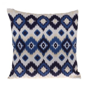 Vankúš Blue White, 45x45 cm