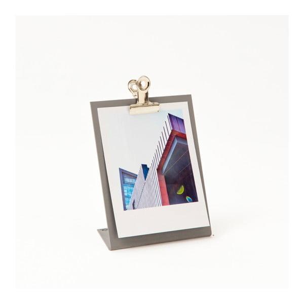 Sivý rámik na fotku Clipboard Small