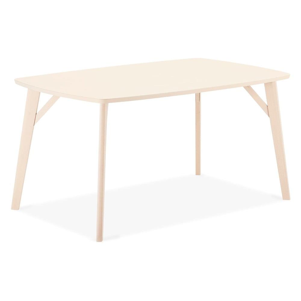 Jedálenský stôl z bukového dreva Furnhouse Penang, 150 x 90 cm