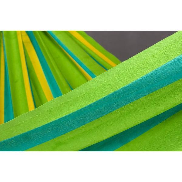 Hojdacia sieť Sonrisa pre dvoch, zelená