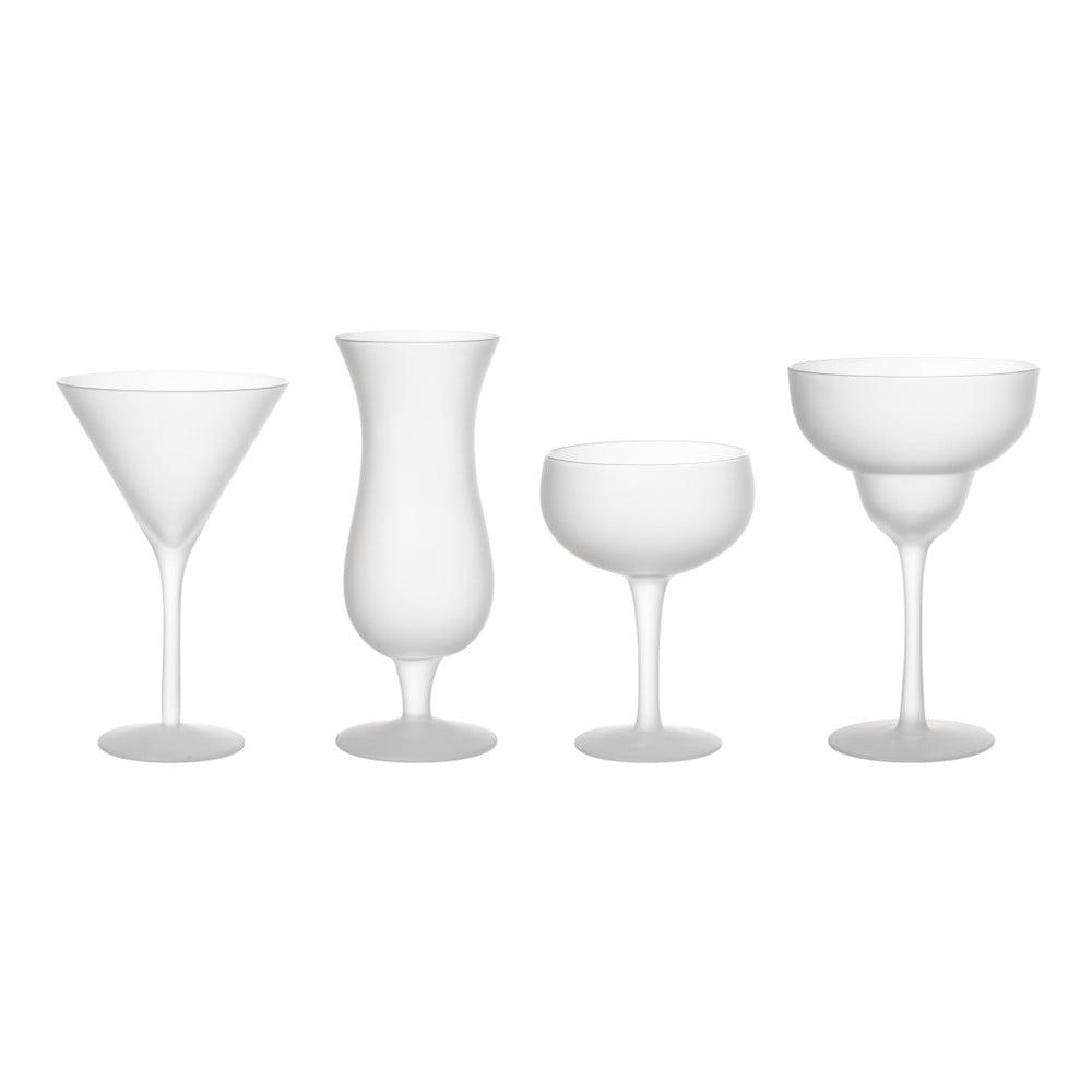 Sada 4 pohárov na koktejly Le Studio Cocktail Frozen Glasses