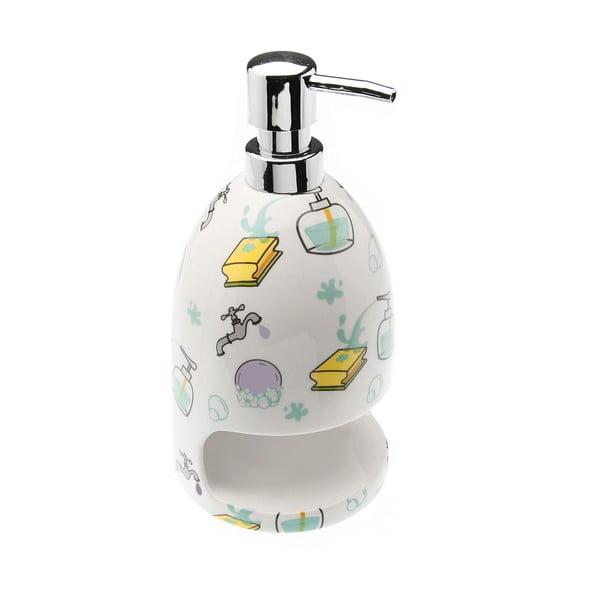 Dávkovač na mydlo s miestom na hubku Splash