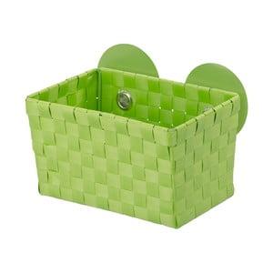 Zelený košík s prísavkou Wenko Fermo