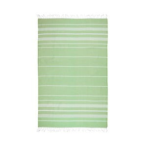 Zelená hammam osuška Kate Louise Classic, 180x100cm