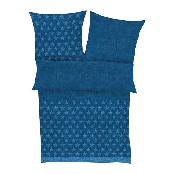 Obliečky Fine Flannel Royal Blue, 140x200 cm