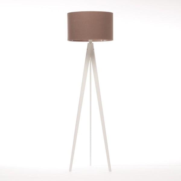 Stojacia lampa Artist Dark Taupe Felt/White Birch, 125x42 cm