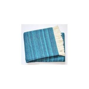 Deka Toscana Plaid Turquoise, 140x180 cm