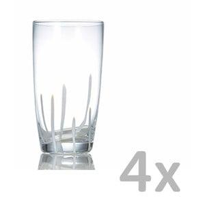Sada 4 pohárov Salt&Pepper Mikado, 0,45l