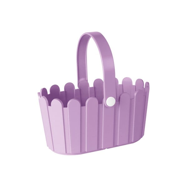 Kvetináč Landhaus Basket Light Violet