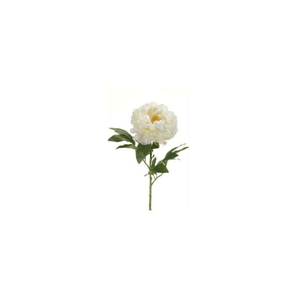 Umelý kvet Pivónia, krémová