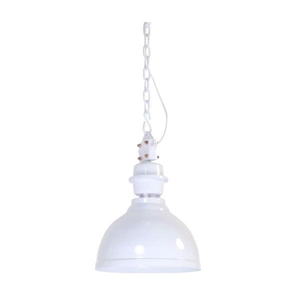 Závesné svetlo Clinton White, 35 cm