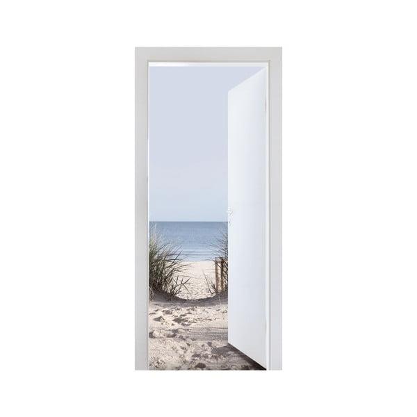 Samolepka na dvere K moru