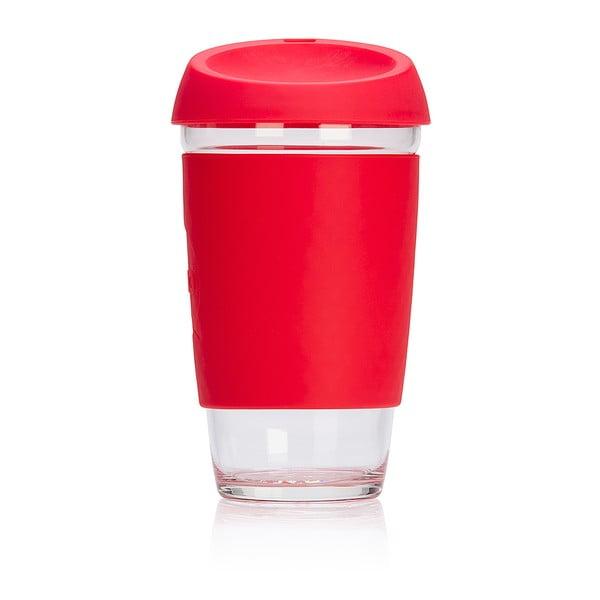Eko hrnček na kávu Joco Cup 454 ml, červený