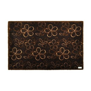 Rohožka Floral Brown, 50x70 cm