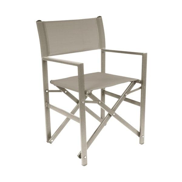 Skladacia záhradná stolička Gesista Taupe
