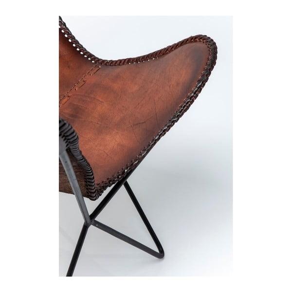 Sada 2 kožených kresiel Kare Design Butterfly