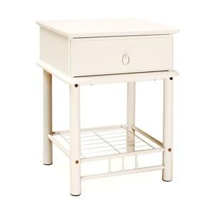 Nočný stolík Lovely White