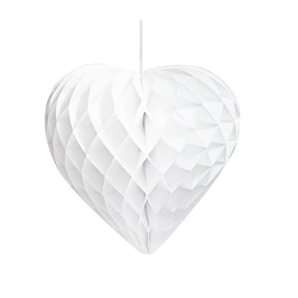 Papierové dekorácie Honeycomb Hearts, 3 kusy