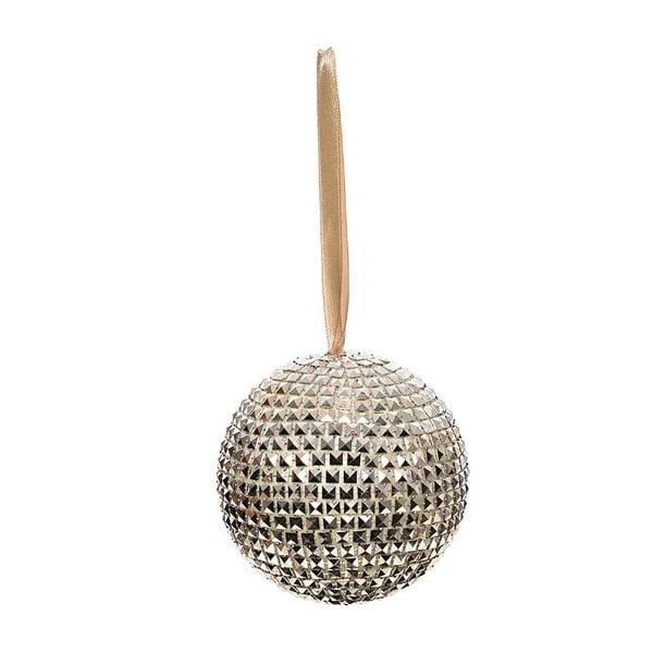 Závesná guľa Champagne, 10 cm