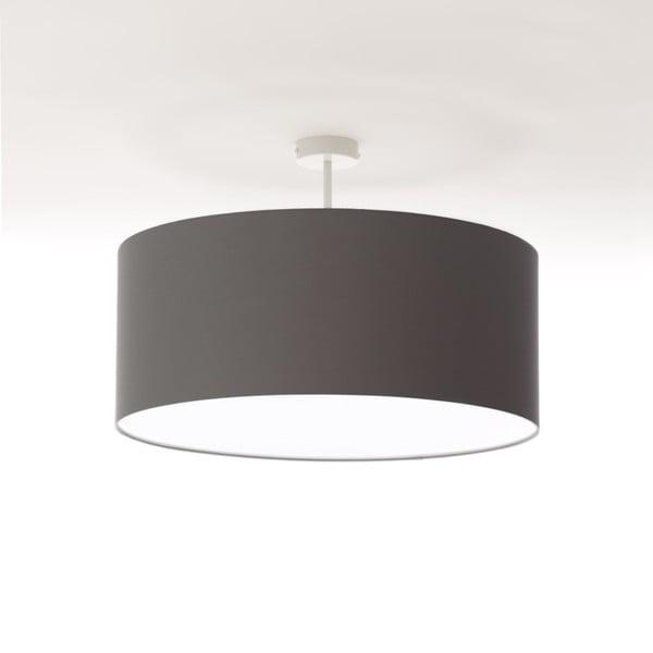Tmavosivé stropné svetlo 4room Artist, Ø 60 cm
