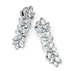 Náušnice Crystal Lilies