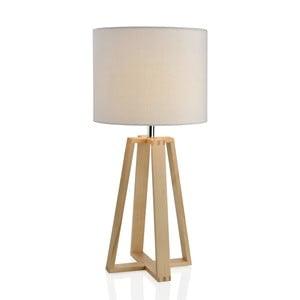 Drevená lampa Group, biela
