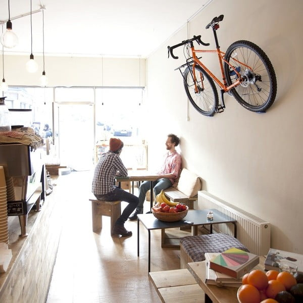 Nástenný stojan na bicykel Cycloc Hero, zelený
