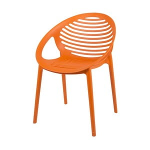 Oranžová stolička Canett Elements