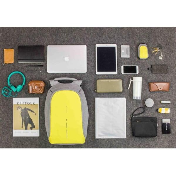 Žltý bezpečnostný batoh XD Design Bobby Compact