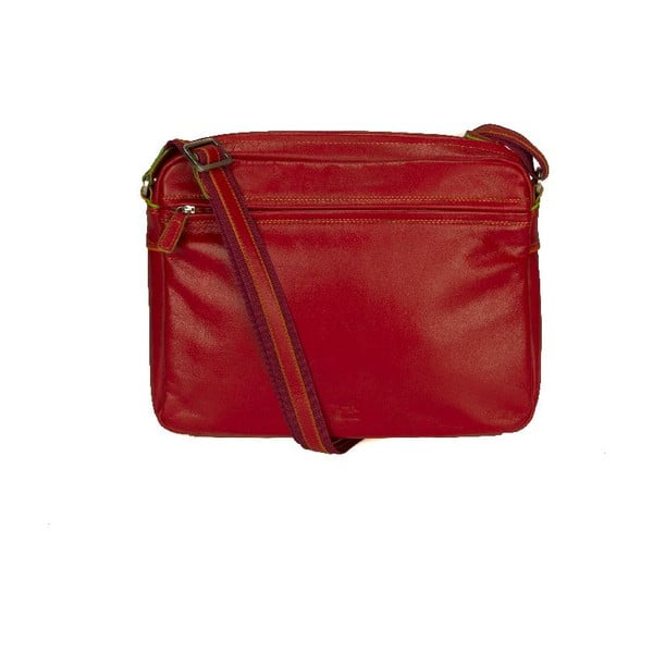 Kabelka Top Zip Organiser Red