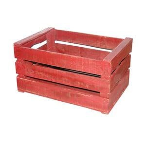 Drevený box Antic Line Wooden Red