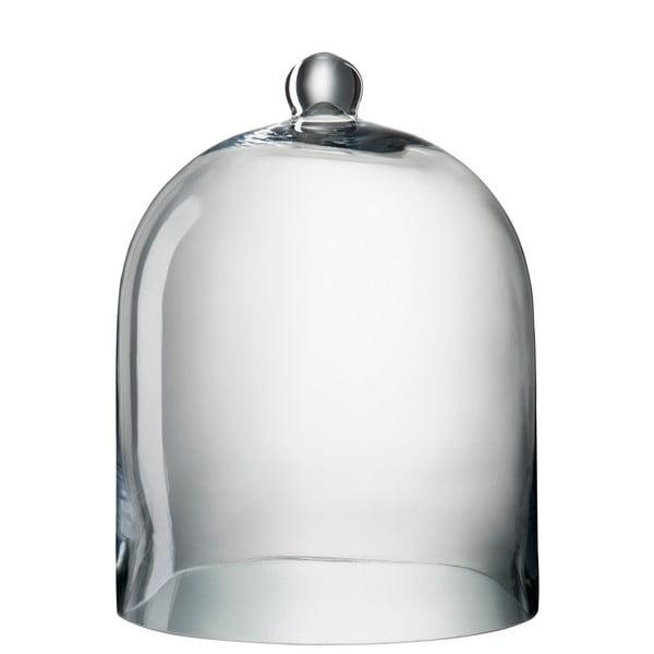 Sklenený dekoratívny poklop Bell, výška 40 cm