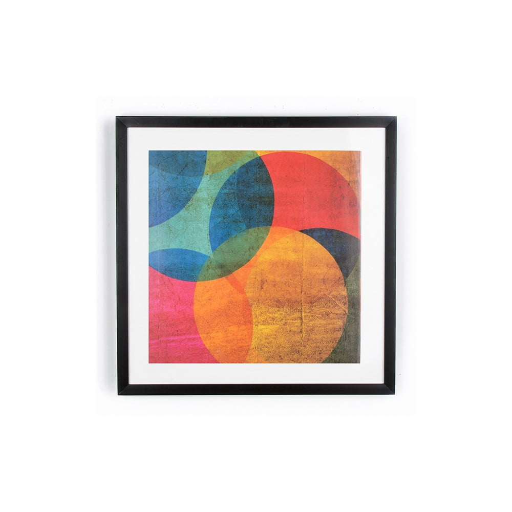 Obraz Graham & Brown Neon Circle, 50 × 50 cm