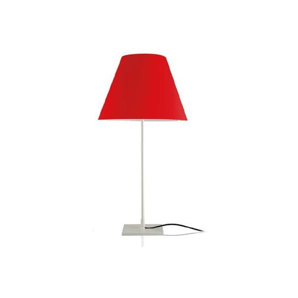 Stolová lampa Simple Metal/Red