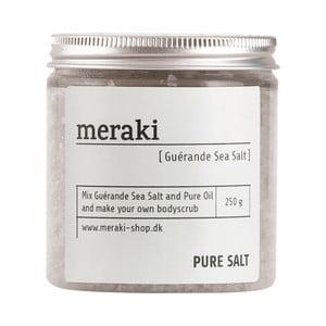 Morská soľ na peeling Meraki Pure, 250 g